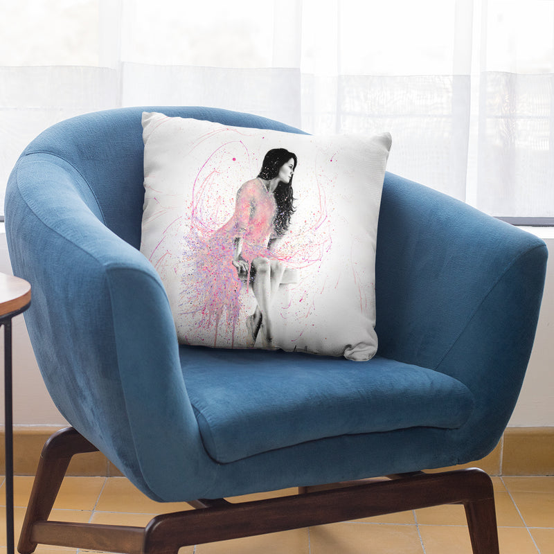 Pastel Breeze Day Throw Pillow By Ashvin Harrison