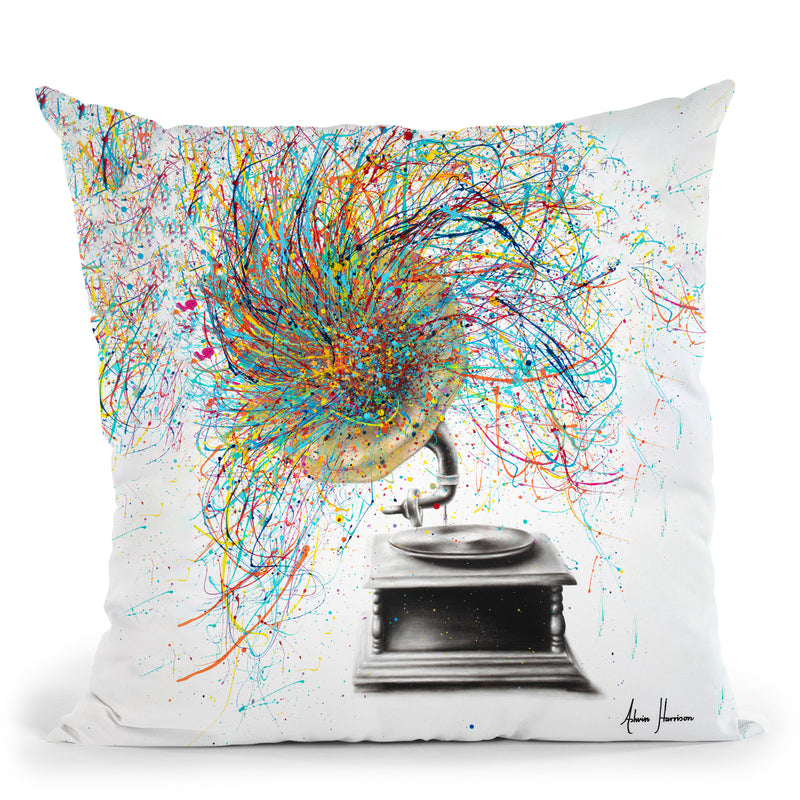 Sight Of Sound Throw Pillow By Ashvin Harrison