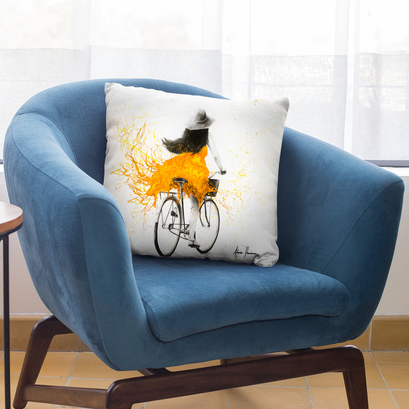 Sunflower Sunday Throw Pillow By Ashvin Harrison