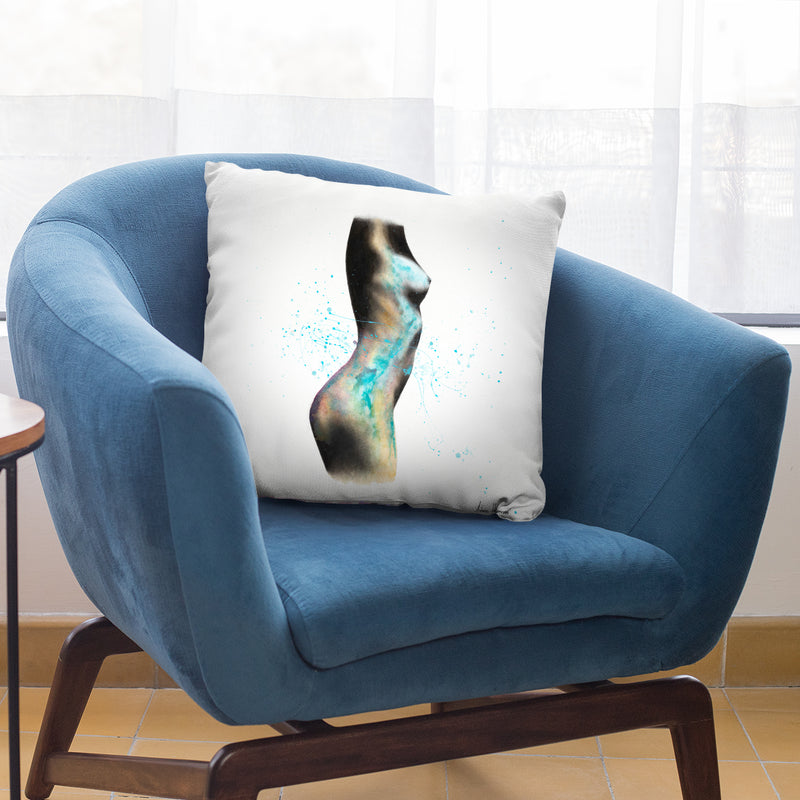 Swirling Relapse Throw Pillow By Ashvin Harrison