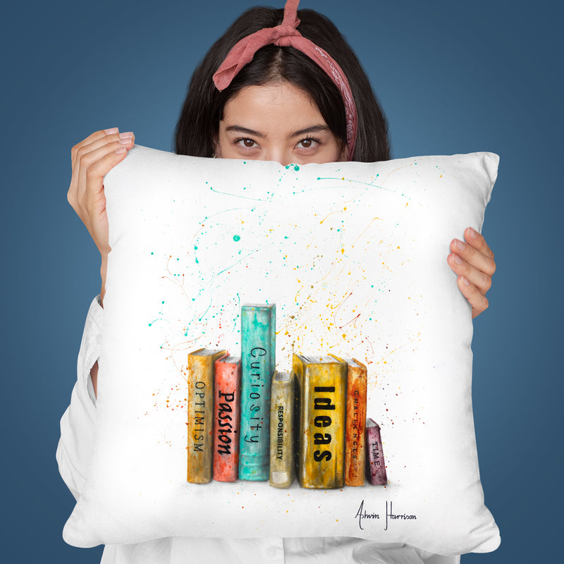 To Be Of One Throw Pillow By Ashvin Harrison