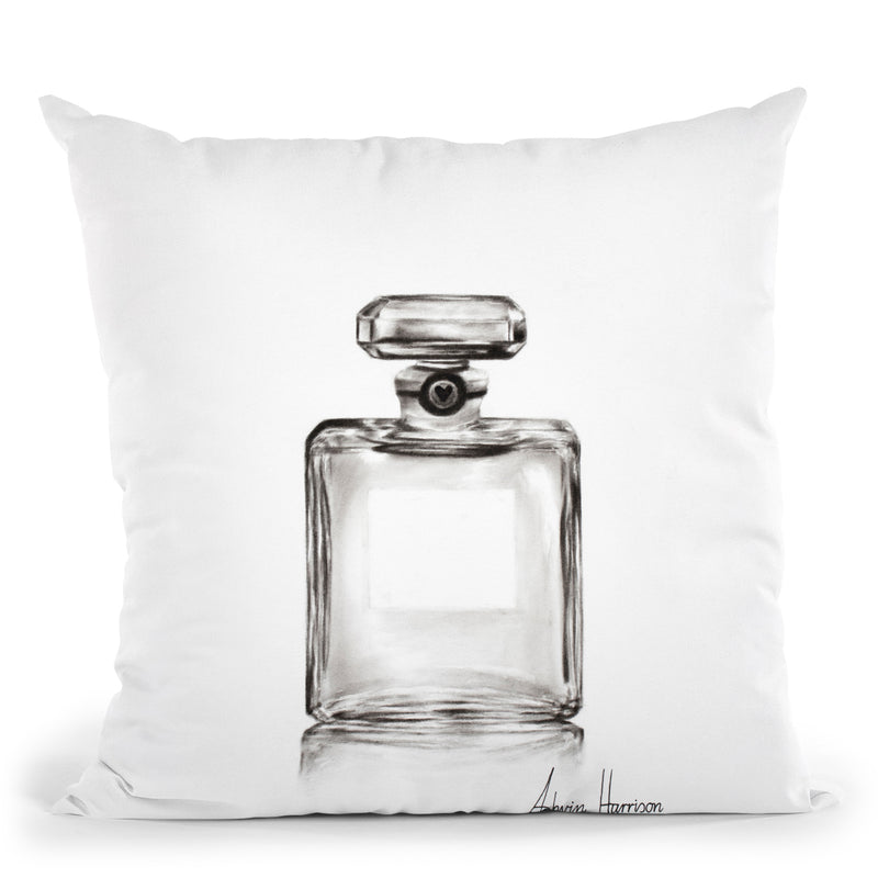 Valentines Day Perfume Throw Pillow By Ashvin Harrison