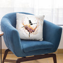 Violetta Ballerina Throw Pillow By Ashvin Harrison