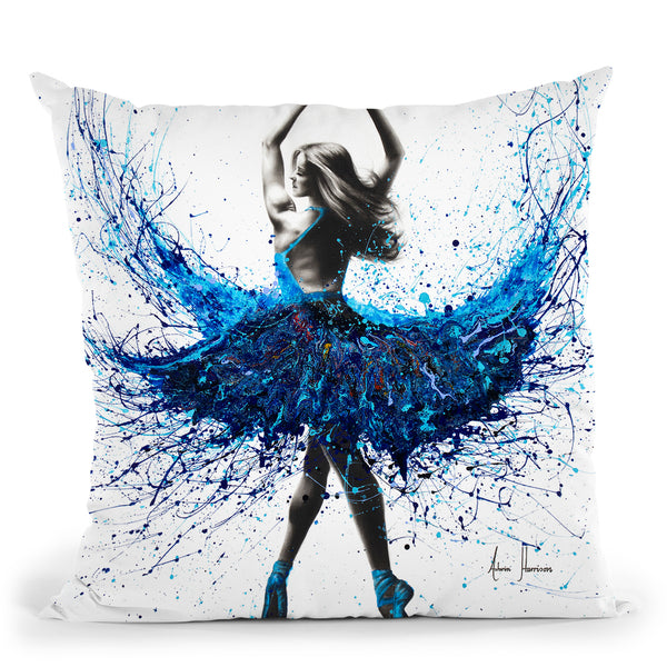 Bristol Dancer Throw Pillow By Ashvin Harrison