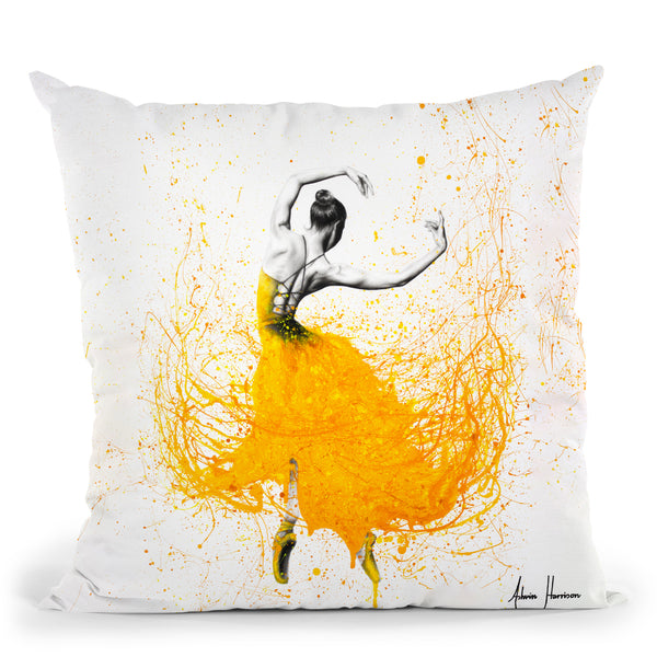 Daisy Dance Throw Pillow By Ashvin Harrison