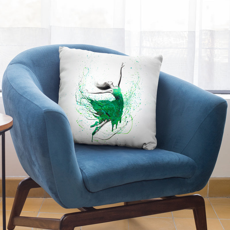 Healing Hills Dancer Throw Pillow By Ashvin Harrison