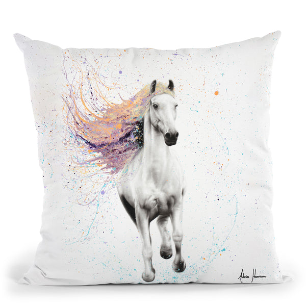 Horse Of Rhythm Throw Pillow By Ashvin Harrison