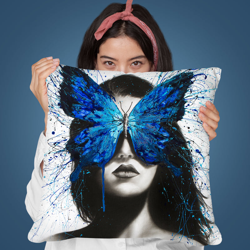Butterfly Mind Throw Pillow By Ashvin Harrison