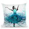 Coral Night Dancer Throw Pillow By Ashvin Harrison