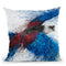 Crimson Rosella Throw Pillow By Ashvin Harrison