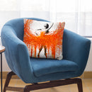 Dancing With Fire Throw Pillow By Ashvin Harrison