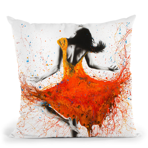 Desert Storm Dance Throw Pillow By Ashvin Harrison
