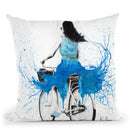 Easy Sunday Morning Throw Pillow By Ashvin Harrison