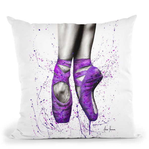 A Soft Night Throw Pillow By Ashvin Harrison