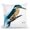Enlightened Kingfisher Throw Pillow By Ashvin Harrison
