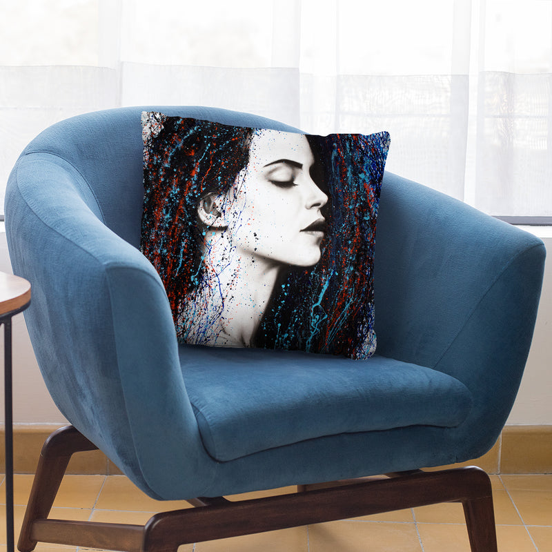Even Sounds Throw Pillow By Ashvin Harrison