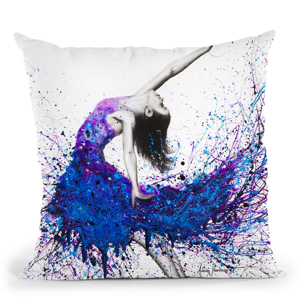 Evening Sky Dancer Throw Pillow By Ashvin Harrison