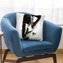 Existential Woman Iv Throw Pillow By Ashvin Harrison