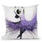Lavender Dance Throw Pillow By Ashvin Harrison