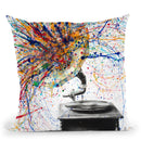 Louder Throw Pillow By Ashvin Harrison