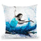 Luna Marina Ballet Throw Pillow By Ashvin Harrison