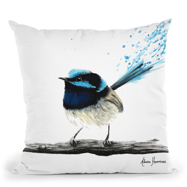 Afternoon Wren Throw Pillow By Ashvin Harrison