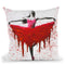 Moral Heart Dance Throw Pillow By Ashvin Harrison