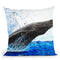 Moreton Whale Dance Throw Pillow By Ashvin Harrison