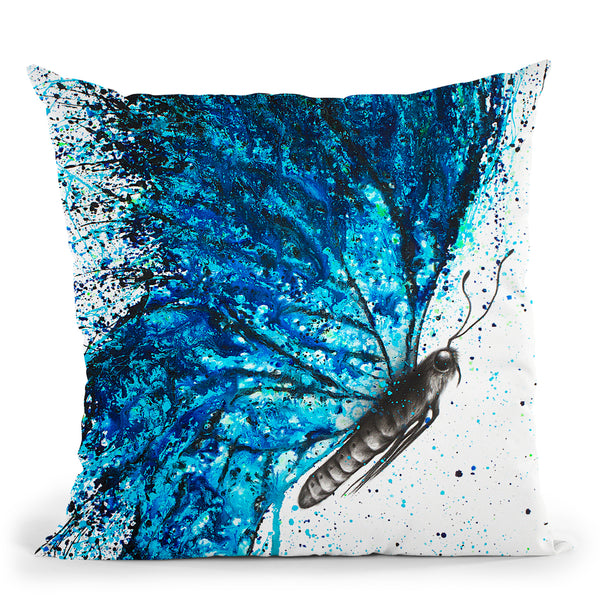 New Summer Wings Butterfly Throw Pillow By Ashvin Harrison