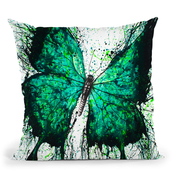 Night Garden Butterfly Throw Pillow By Ashvin Harrison