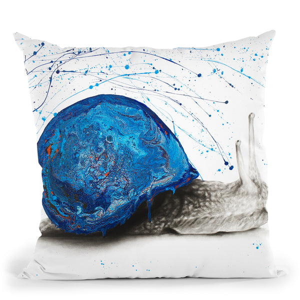 Night Garden Snail Throw Pillow By Ashvin Harrison