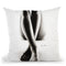 Nude Woman Charcoal Study 43 Throw Pillow By Ashvin Harrison