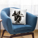 Nude Woman Charcoal Study 48 Throw Pillow By Ashvin Harrison