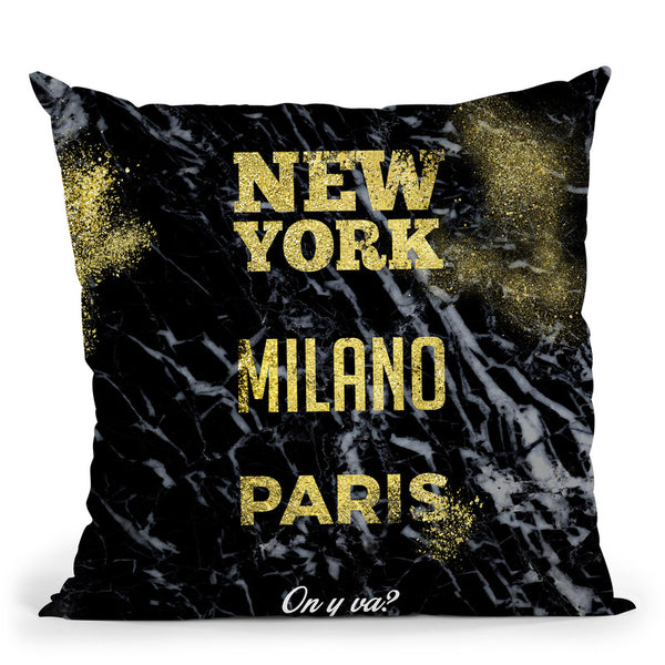 Fashion On Y Va Throw Pillow By Alexandre Venancio