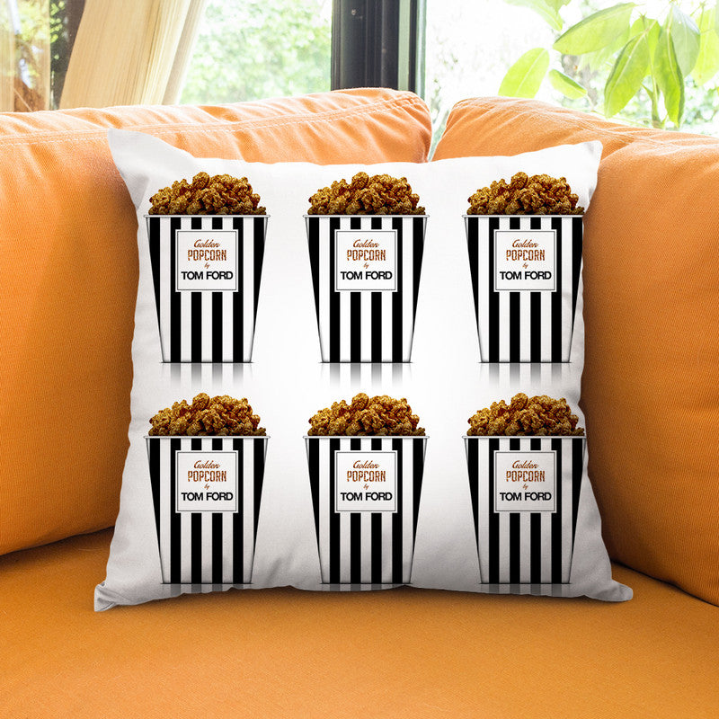 Fashion Popcorn Ii Throw Pillow By Alexandre Venancio