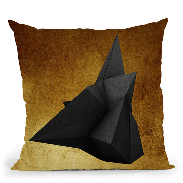 Fashion Geometric Rock Pair Ii Throw Pillow By Alexandre Venancio