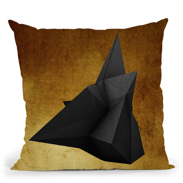 Fashion Geometricrock Pair Ii Throw Pillow By Alexandre Venancio