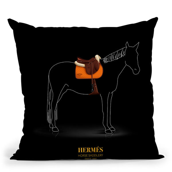 Iconic Dresses Herme_S I Throw Pillow By Alexandre Venancio