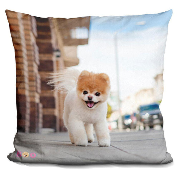 Boo Adventure Awaits Throw Pillow