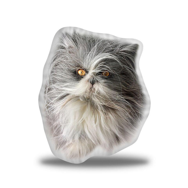 Atchoum Fur Ball Custom Shaped Pillow
