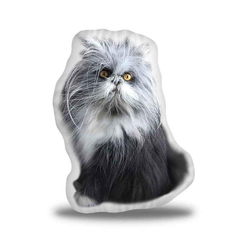Atchoum Plain Sitting Sideways Custom Shaped Pillow