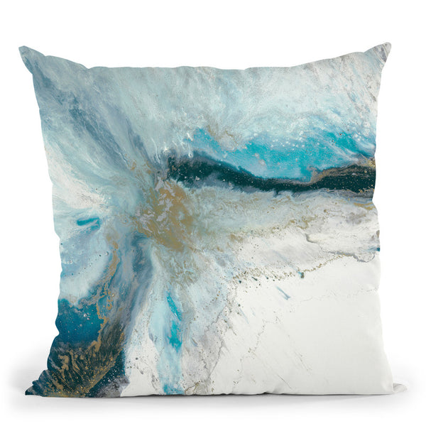 Split Apart 2 Throw Pillow By Blakely Bering