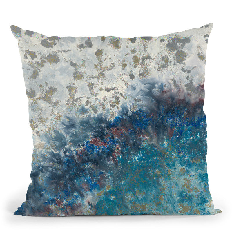 Tide Throw Pillow By Blakely Bering