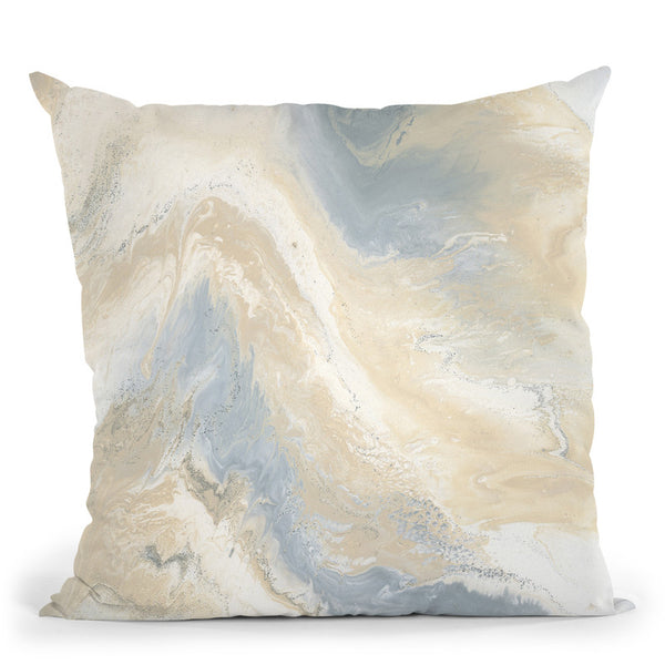 Neutral Mist Throw Pillow By Blakely Bering