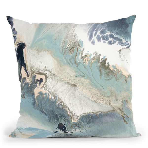 Blue Lagoon 1 Throw Pillow By Blakely Bering