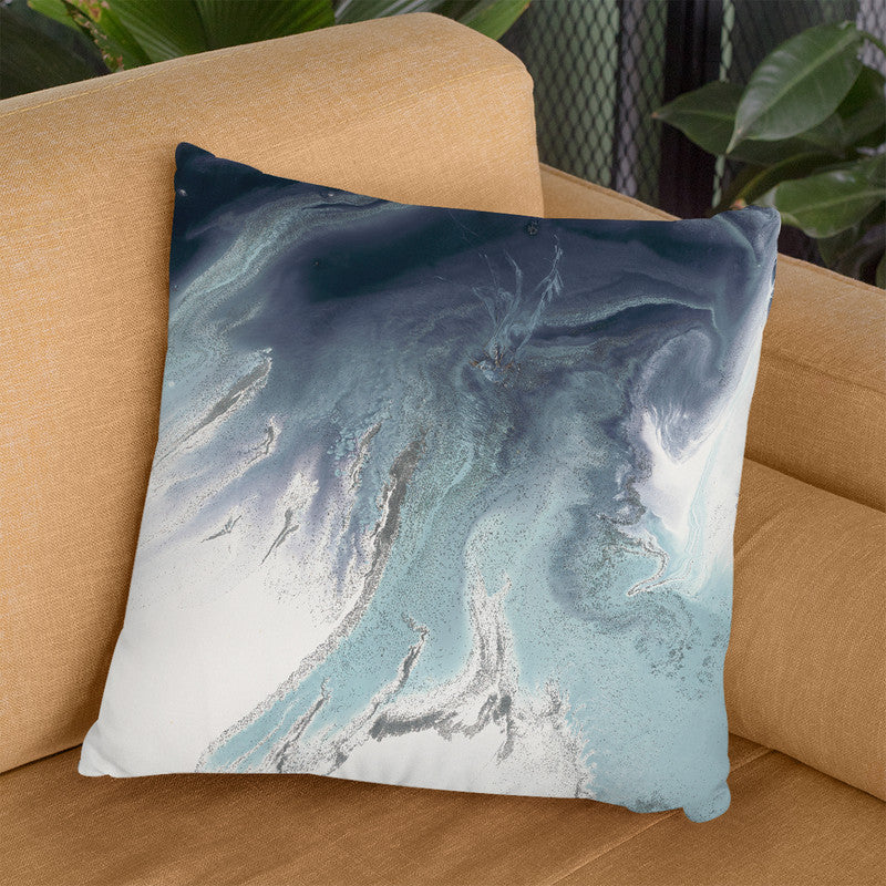 Blue Lagoon 3 Throw Pillow By Blakely Bering