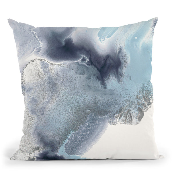 Blue Lagoon 7 Throw Pillow By Blakely Bering