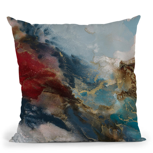 Serene Rising Throw Pillow By Blakely Bering