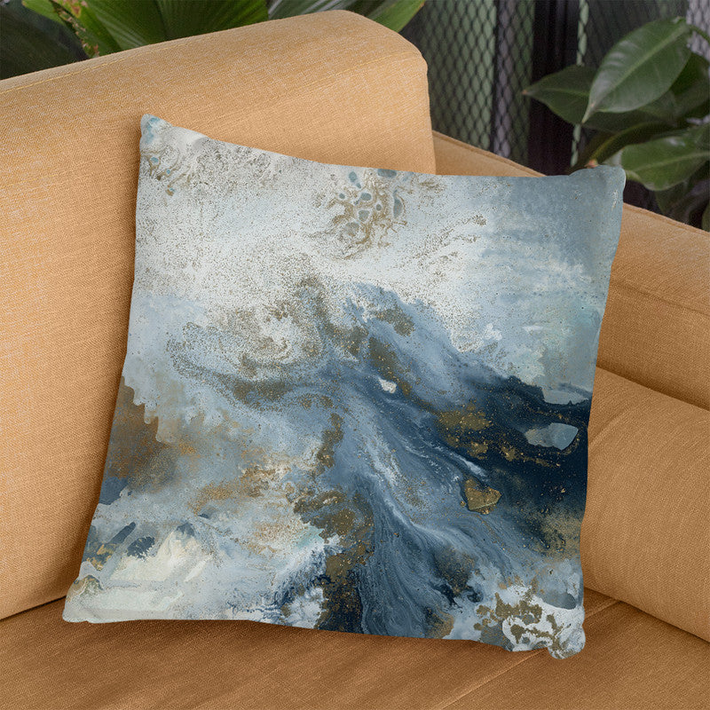 Blue Island Throw Pillow By Blakely Bering