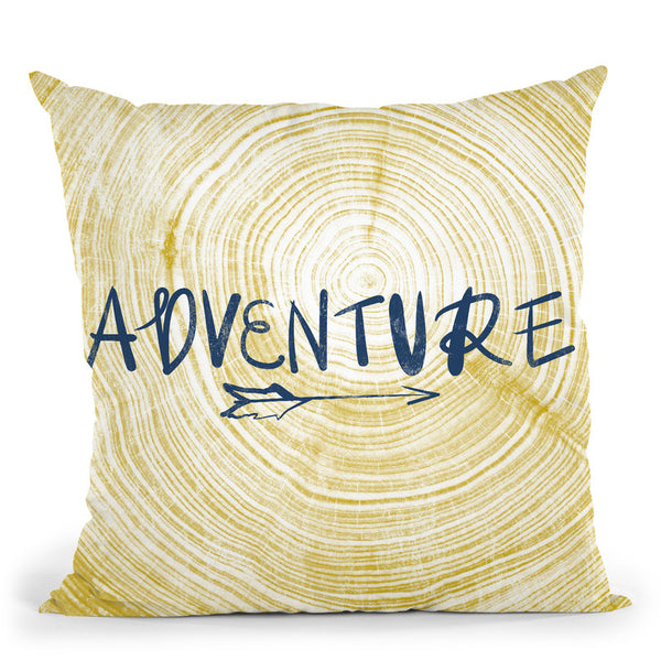 Adventure 2 Throw Pillow By Blakely Bering